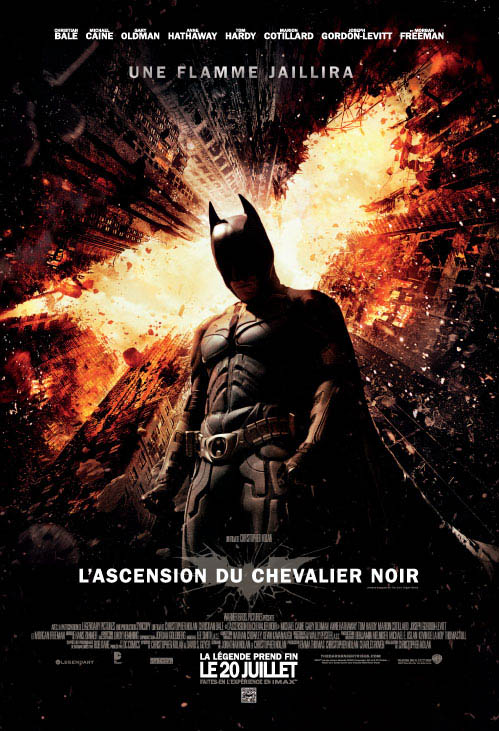 L'ascension du chevalier noir official Movie Poster