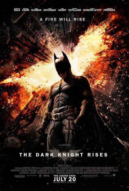 The Dark Knight Rises: The IMAX Experience official Movie Poster
