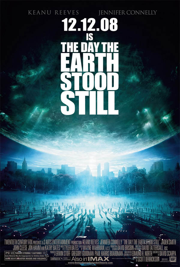 The Day the Earth Stood Still Large Poster