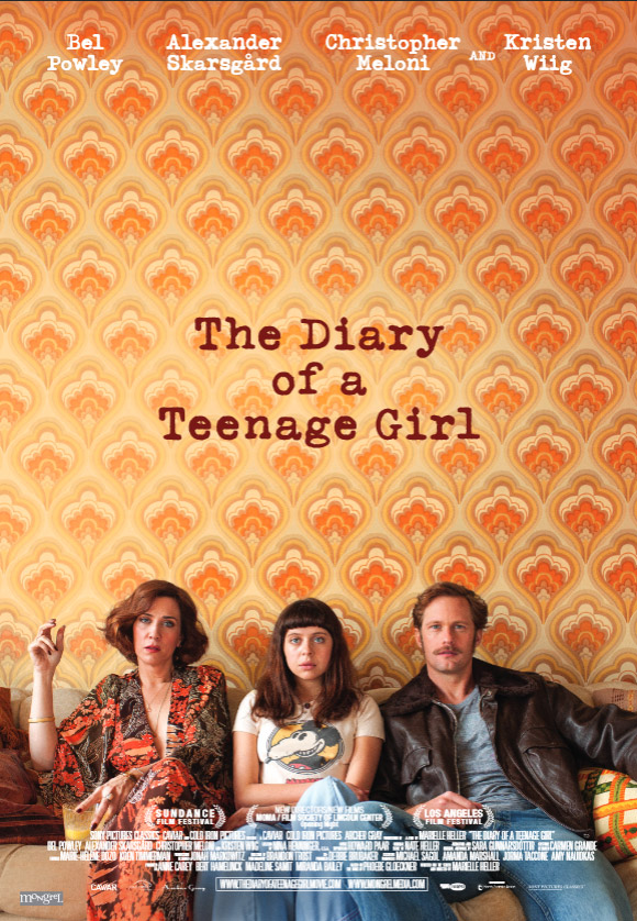 The Diary of a Teenage Girl Large Poster