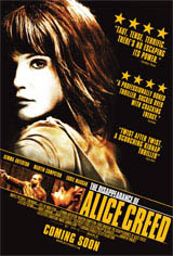 The Disappearance of Alice Creed Movie Poster