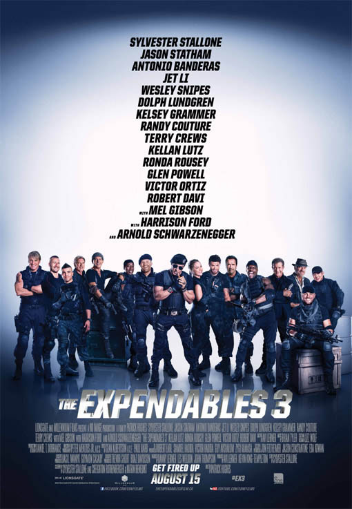 The Expendables 3 Large Poster
