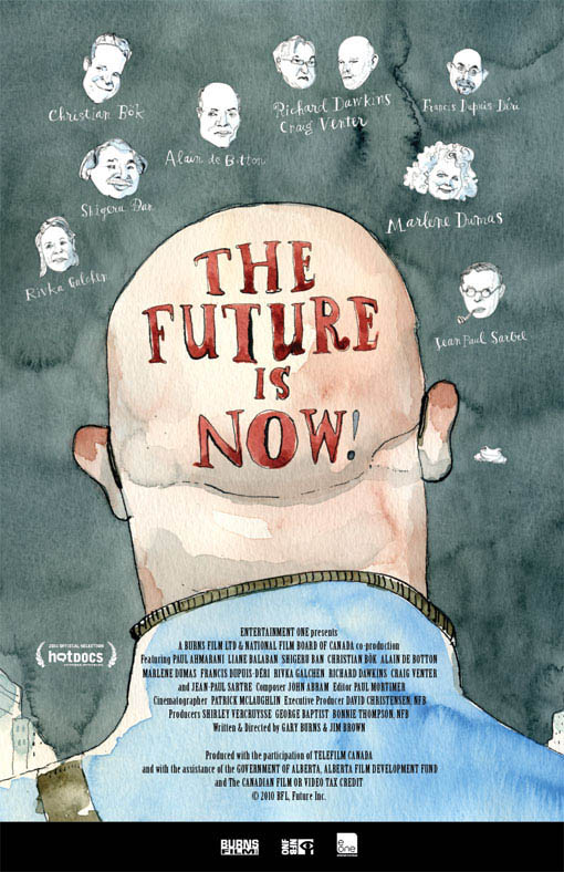The Future Is Now! Large Poster