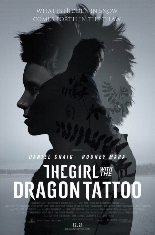 The Girl with the Dragon Tattoo Large Poster