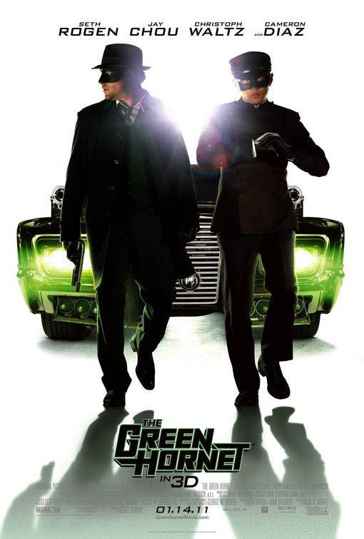The Green Hornet Large Poster