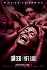 The Green Inferno Movie Poster