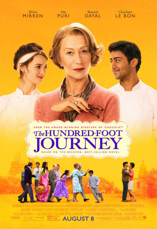 The Hundred-Foot Journey Large Poster