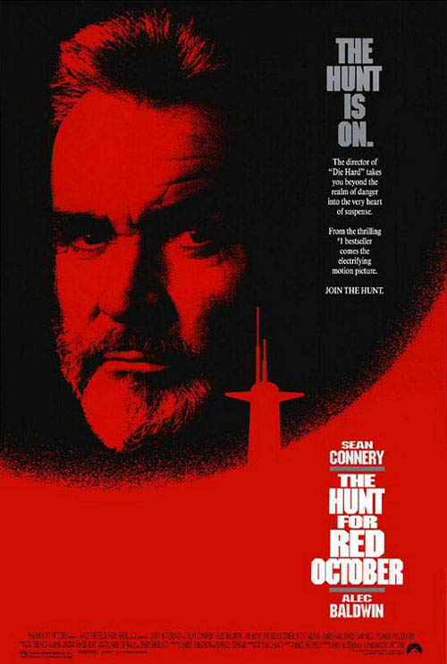 The Hunt for Red October Large Poster