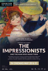 The Impressionists - Exhibition on Screen Movie Poster