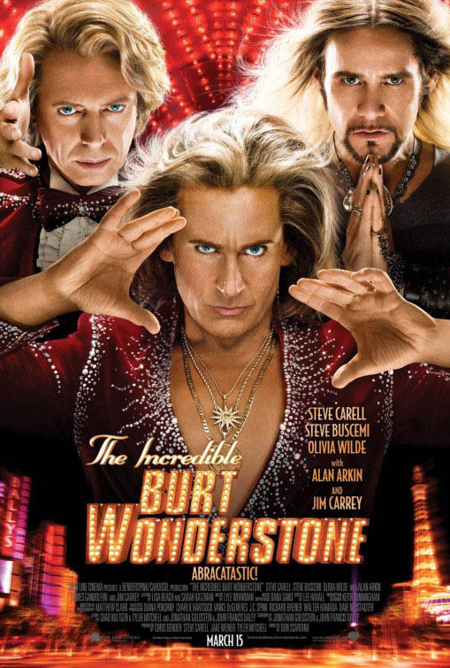 The Incredible Burt Wonderstone Large Poster