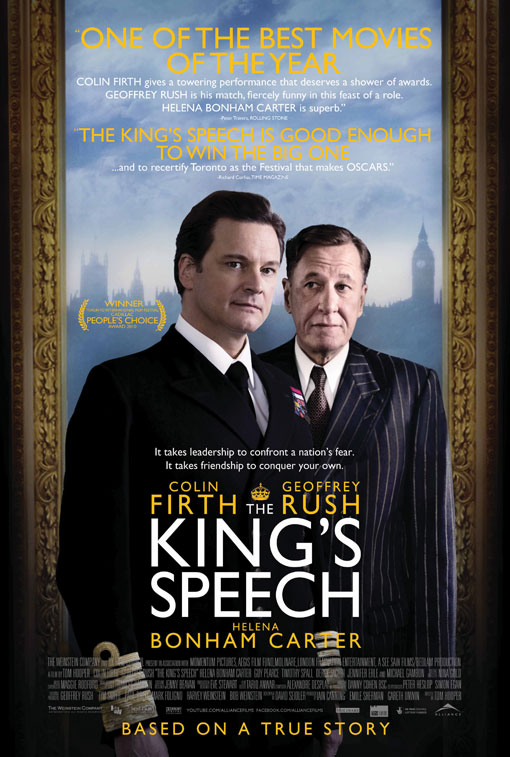The King's Speech official Movie Poster