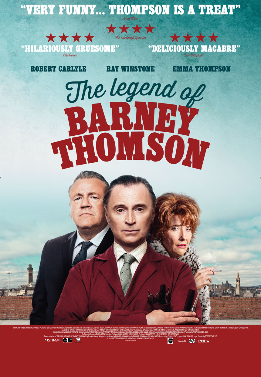 The Legend of Barney Thomson Large Poster