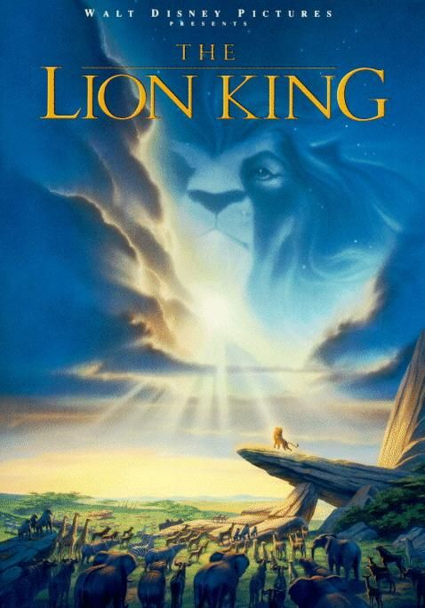 The Lion King Large Poster