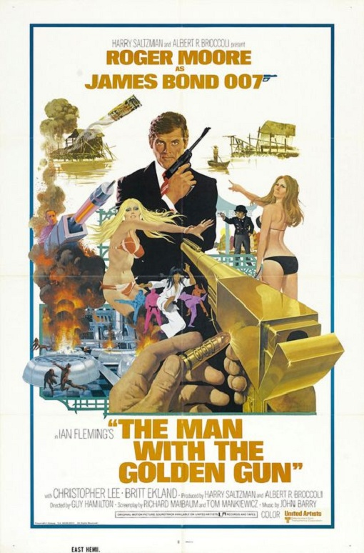 The Man with the Golden Gun Large Poster