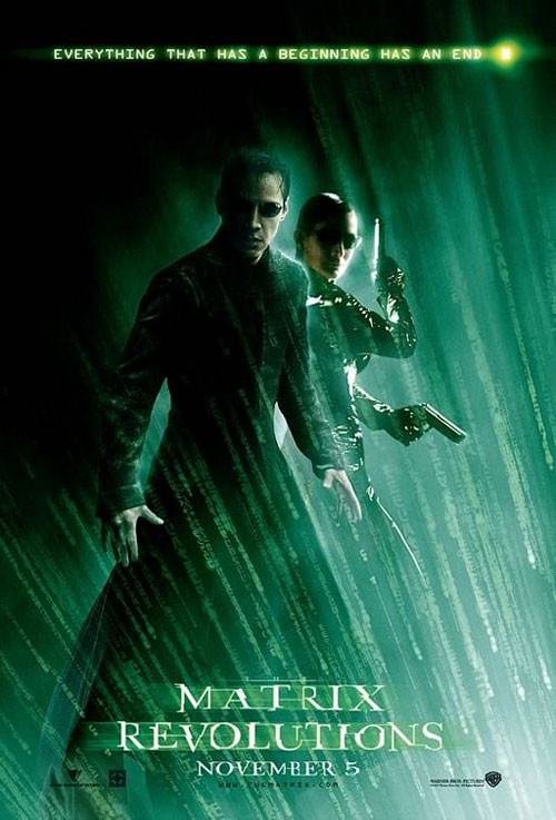 The Matrix Revolutions Large Poster