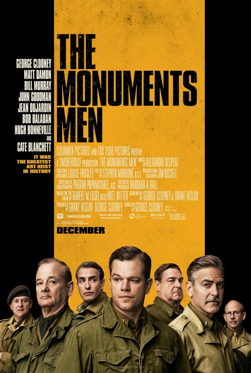 The Monuments Men Large Poster