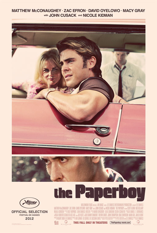 The Paperboy official Movie Poster