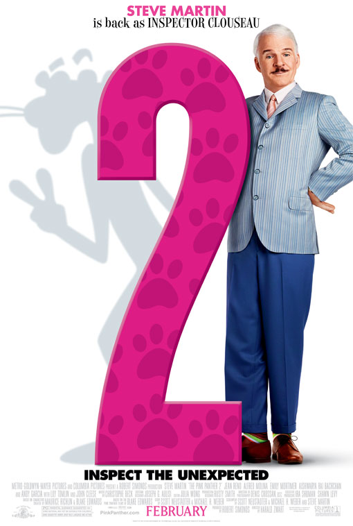The Pink Panther 2 official Movie Poster