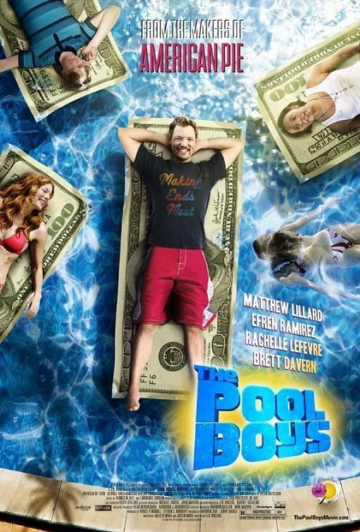 The Pool Boys Large Poster