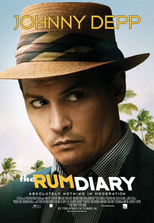 The Rum Diary Large Poster