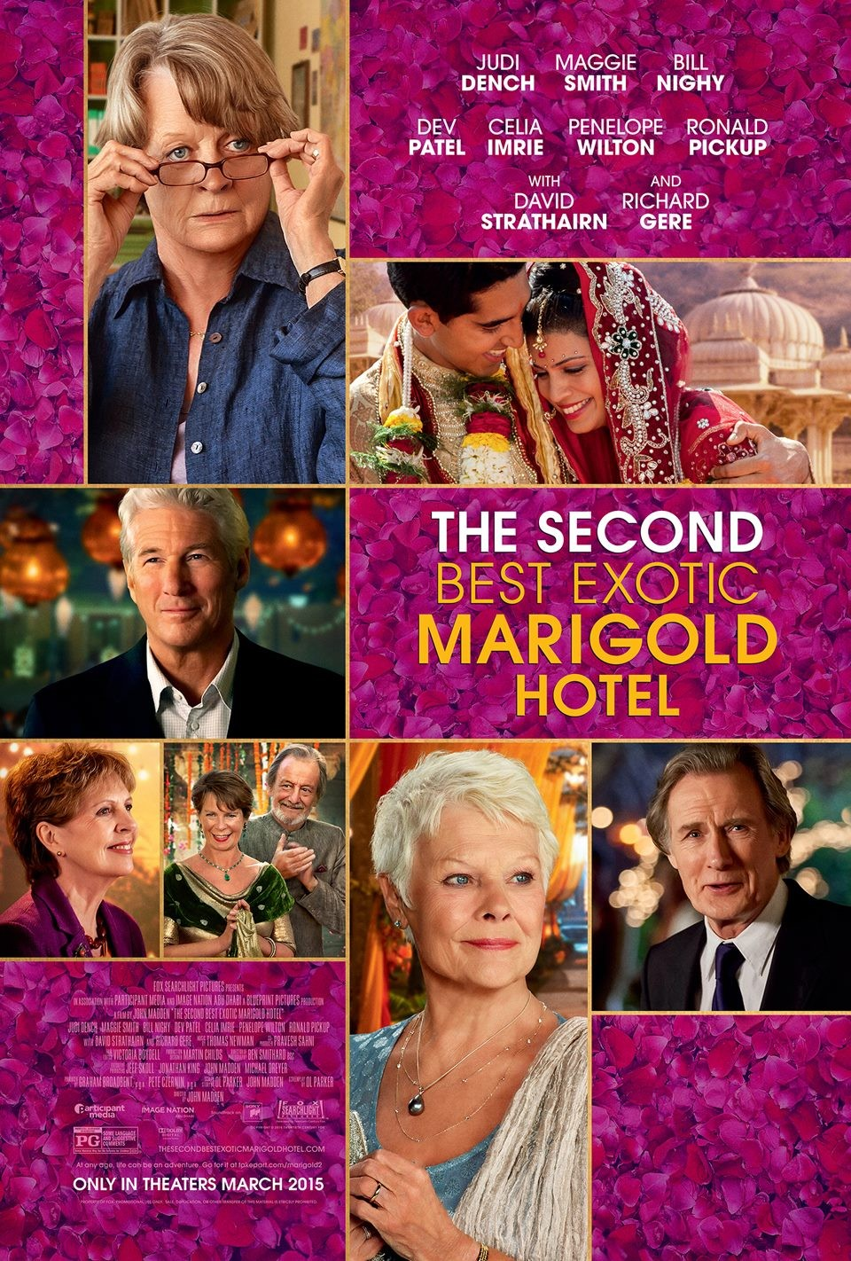 The Second Best Exotic Marigold Hotel | On DVD | Movie Synopsis and info