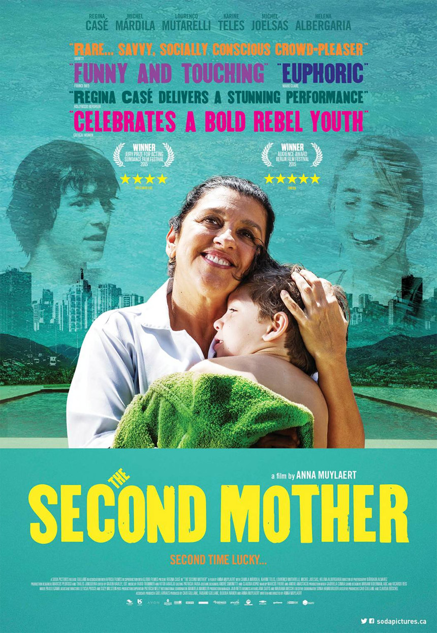The Second Mother Large Poster