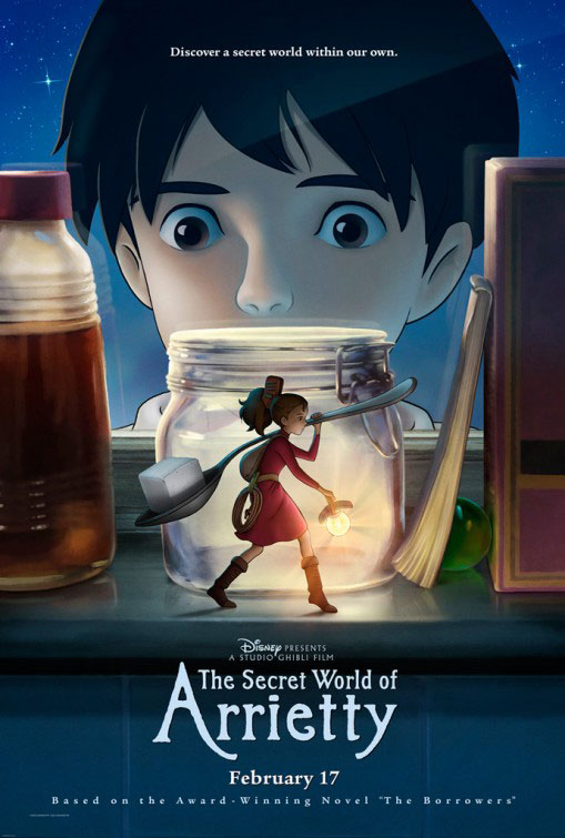 The Secret World of Arrietty Large Poster