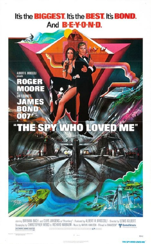 The Spy Who Loved Me Large Poster