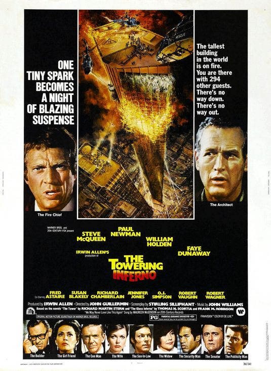 The Towering Inferno Large Poster