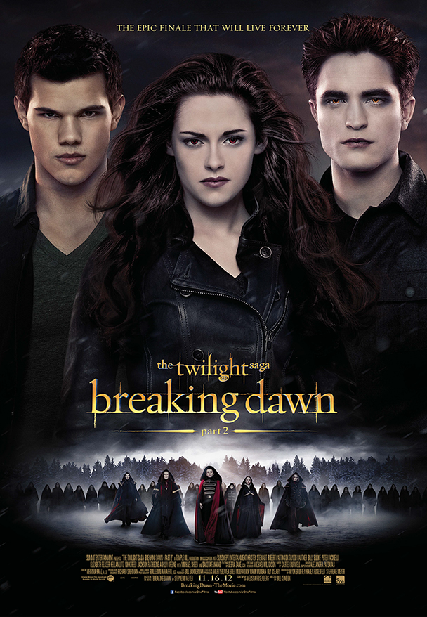 The Twilight Saga: Breaking Dawn - Part 2 Large Poster