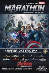 The Ultimate Marvel Marathon Movie Poster