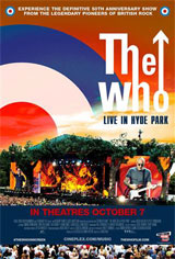 The Who: Live in Hyde Park Movie Poster
