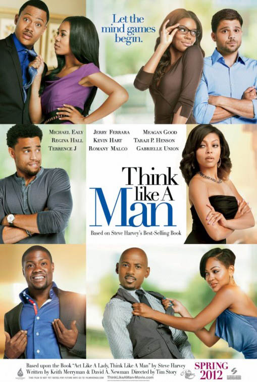 Think Like a Man Large Poster