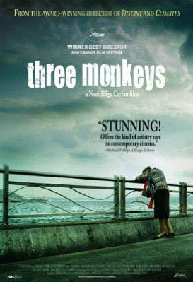 Three Monkeys Large Poster