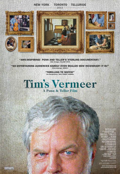 Tim's Vermeer Large Poster