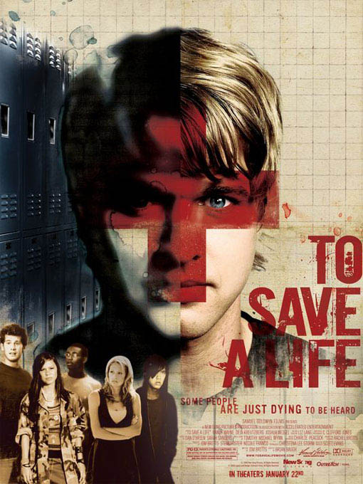 To Save a Life Large Poster