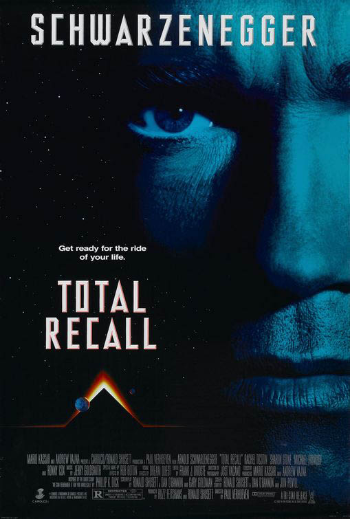 Total Recall (1990) Large Poster