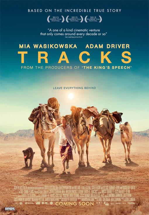 Tracks Large Poster