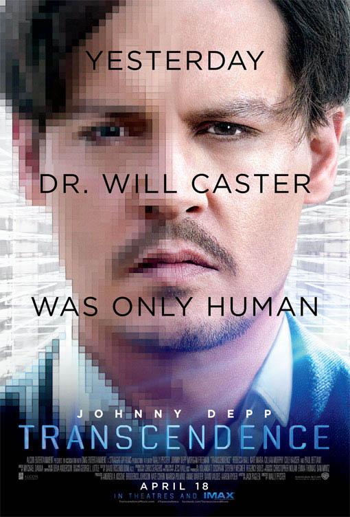 Transcendence Large Poster
