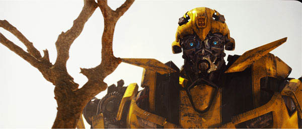 Bumblebee in Transformers: Revenge of the Fallen