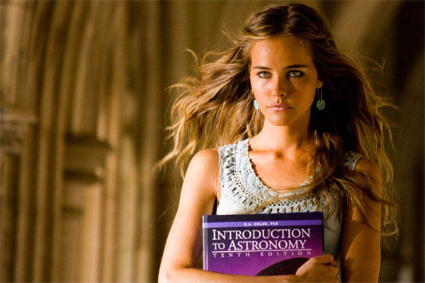 Isabel Lucas looks devious