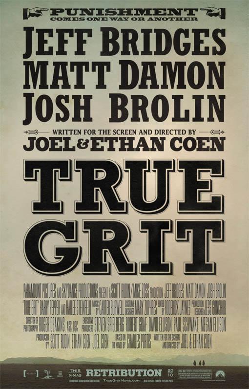True Grit Large Poster