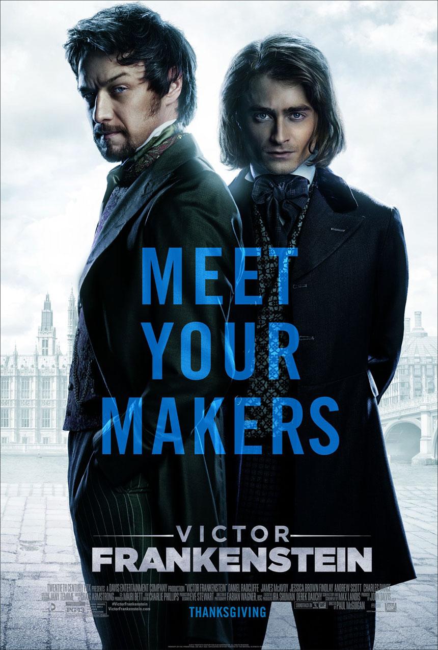 Victor Frankenstein Large Poster