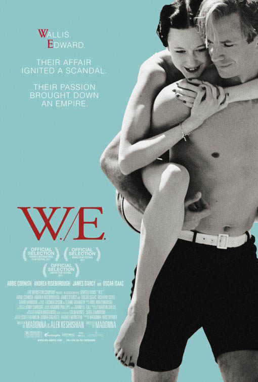 W./E. official Movie Poster