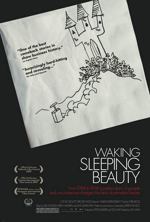 Waking Sleeping Beauty Large Poster