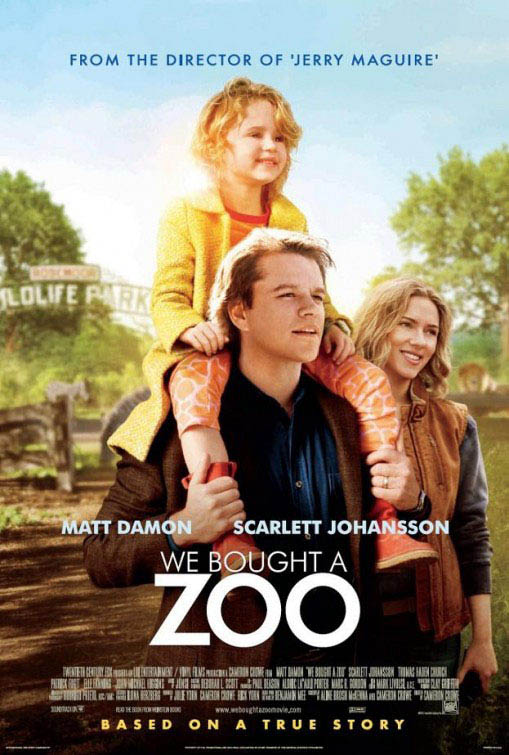We Bought a Zoo official Movie Poster