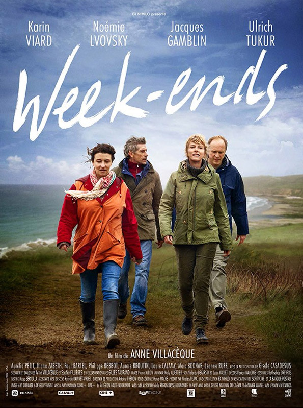 Weekends Large Poster