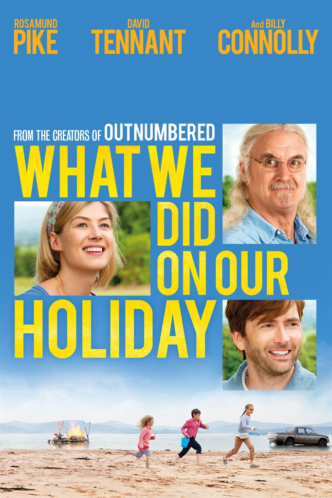What We Did on Our Holiday Large Poster
