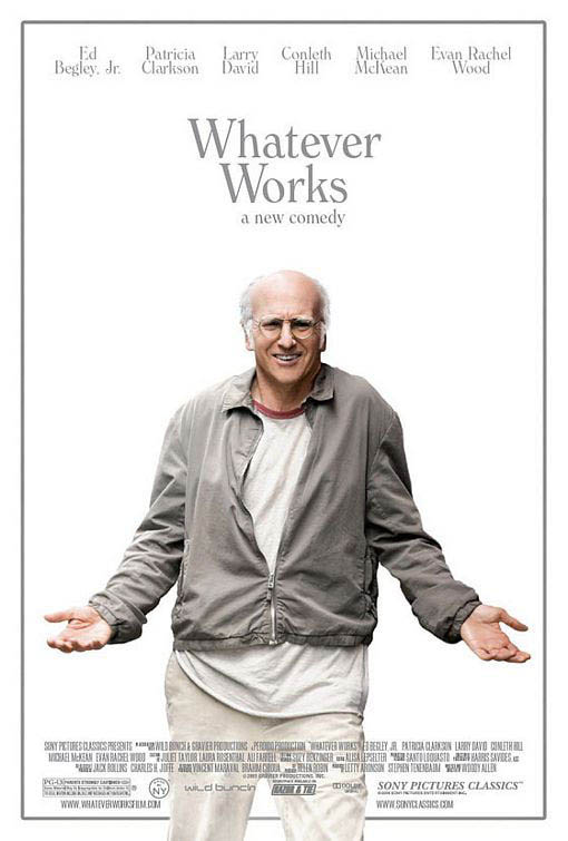 Whatever Works Large Poster