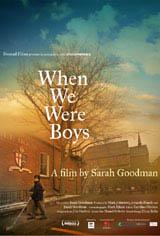 When We Were Boys (2009) Movie Poster